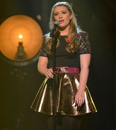 Ella Henderson performing on the X Factor wearing our Dionne skirt and Romona dress (as a top) Fashion Tv, Star Fashion, Jahmene Douglas, Ella Anderson, Lace Skirt, Sequin Skirt, Latest Celebrity News, Fashion And Beauty Tips, Embellished Dress