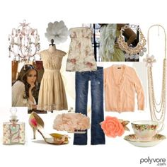 I like all of this, except I'd want my jeans to have a smidge more flare. ;)