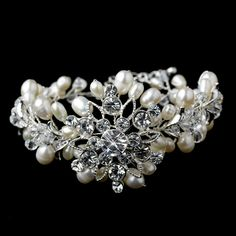 Moonlit Bridals - Silver Freshwater Pearl