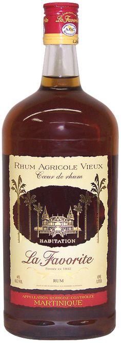 """Rhum """"La Favorite""""  #Martinique #rhum #antilles."""