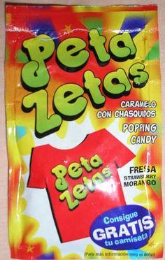 Peta Zetas, su salida al mercado fue todo un acontecimiento, un compañero llevó un sobre a clase y yo estaba deseando salir de clase y bajar al kiosko a comprar un paquete, creo que a 5 pesetas, vamos 3 céntimos de euro.