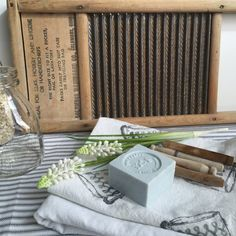 This adorable little washboard is in great shape. It is a Dubl handy brand board in great vintage shape and has the best light oak wood. It also