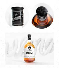 RUM Packaging by Mateusz Chmura | Really like the label