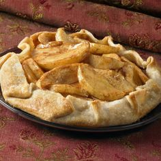 This free-form apple dessert (often referred to as a rustic tart) is super easy because it starts with a refrigerated pie crust. Boost the nutrition and flavor even further by adding 1/4 cup dried cranberries or dried cherries to the fruit mixture.
