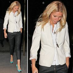 White Blazer Outfit Maison MYM