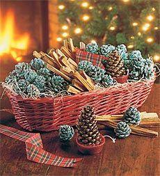 Fireside Gift Basket