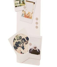 This magnetic strip clips onto the top of any door—no hardware required. Perfect for displaying all sorts of mementos, including photos, notes, or even a set of keys.
