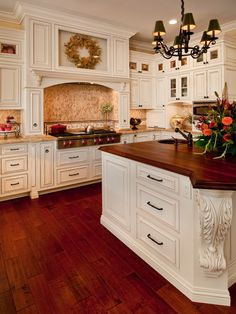 Spaces Butcher Block Counter Design, Pictures, Remodel, Decor and Ideas - page 6