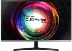 Samsung Ultra HD 3840 x 2160 Quantum Dot LED Monitor - Displayport - Black/Silver 4k Uhd, Iphone Video, Game Mode, Desktop, Motion Blur, Screen Size, Pixel, Usb Hub, Shopping