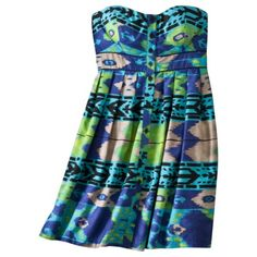 Occasionally Tar-jay knocks it out of the box... just bought this - so fun and feminine, and Iove the colors.