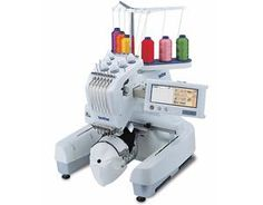 "Brother PR600 FS 6Needle 8x12"" Embroidery Machine,"