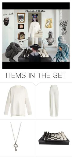 """The chess room"" by thymagine ❤ liked on Polyvore featuring art"