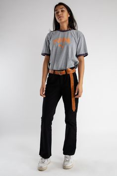 c8fd2525 Black straight leg MAC trousers / Women's highwaist bootcut pants / Vintage  black pantalon / 90s straight leg highwaisted trousers / Size L