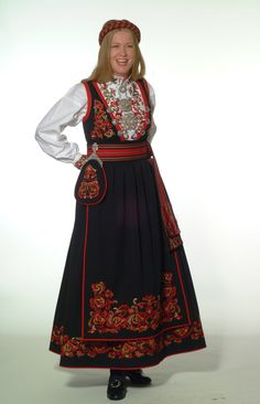 Norwegian People, Visit Norway, Ethnic Fashion, Bohemian, Costumes, Folklore, Outfits, Dresses, Vestidos