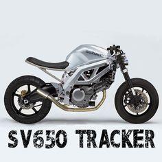 Ragged Moto's take on a traditional street tracker vibe on a modern bike. Concept based on a second generation Suzuki Street Fighter Motorcycle, Suzuki Motorcycle, Cool Motorcycles, Buell Cafe Racer, Suzuki Cafe Racer, Custom Street Bikes, Custom Bikes, Suzuki Sv 650, Honda Vfr
