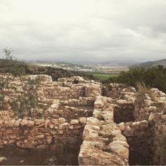 The Ruins of the Ancient Judean City of KhirbetQeiyafa. #alightisrael