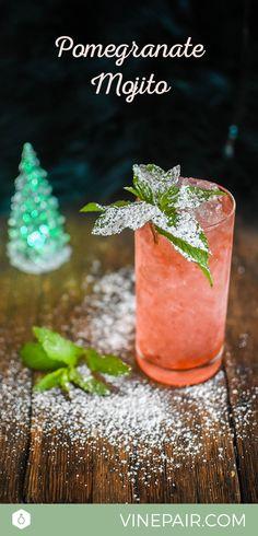 The Pomegranate Mojito Recipe
