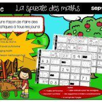 Math-spiral-jogging math-1re année-Caroline Gingras Créations Jogging, Creations, Wish List, September, Walking, Running