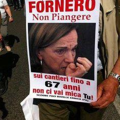 Fornero show!!!!..... #ridere #ridiamo #humor #satira #umorismo #satirapolitica #sbruffonate #chucknorris