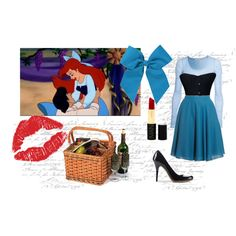 """""""kiss the girl"""" by annahii on Polyvore #the little mermaid #ariel"""