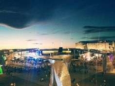 Expo Milan 2015- View from Terrazza Martini at sunset
