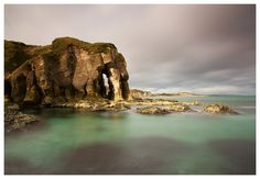 The Elephant Rock.   White Rocks, Portrush.  County Antrim