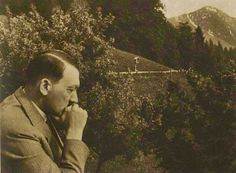 This is a really intriguing picture of Hitler.
