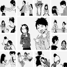 Hirunaka no Ryuusei // Suzume Yosano x Shishio Satsuke