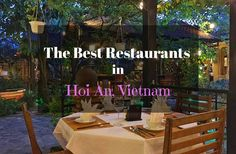Best Restaurants Hoi An Vietnam
