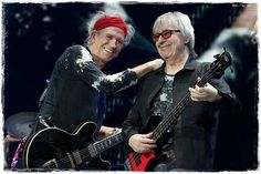 Keith Richards & Bill Wyman