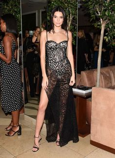 See the best dressed celebs on the red carpet of Harper BAZAAR's 150 Most Fashionable Women party here, like Kendall Jenner in La Perla..