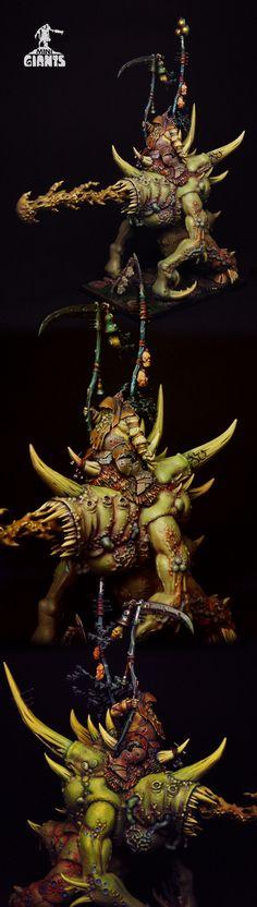 Bloab Nurgle Lord on Maggoth