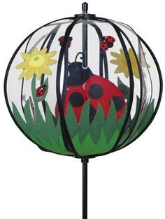 Premier 22336 Ball Spinner Ladybug 10 By Inch