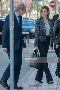 Queen Letizia of Spain attends Unicef board meeting at Unicef headquarters on March 16, 2015 in Madrid, Spain.