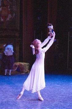 One of my favorite dancers Talia Startsman playing Clara in the Washington Ballet's The Nutcracker