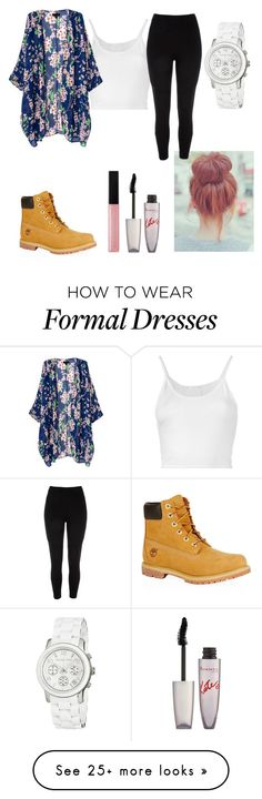 """""""when u gotta dress 'formal' for ur track meet tm """" by imana2013 on Polyvore featuring Lost & Found, River Island, Timberland, Bobbi Brown Cosmetics, Rimmel and Michael Kors"""