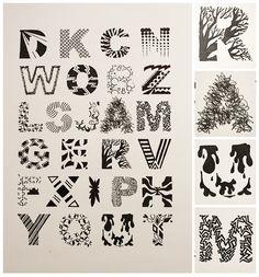 Kalligraphie / ABC