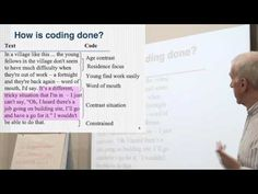 Thematic coding is one of the most common forms of qualitative data analysis and it is found in grounded theory, several forms of phenomenological analysis a. Research Writing, Dissertation Writing, Academic Writing, Research Paper, Research Methods, Research Projects, Thematic Analysis, Text Codes, Sociological Imagination