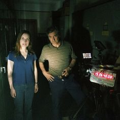 Day 7. After Hours with Griffin Dunne and Zoe Lister-Jones. #thefoodmovie