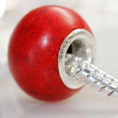 Silver Core w/ Genuine Natural Red Jade Stone Bead for Pandora Chamilia Kay's Troll European Story Charm Compatible Bracelet SEXY SPARKLES http://www.amazon.com/dp/B00GBL8KDQ/ref=cm_sw_r_pi_dp_uM58tb13HZ71D