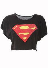 Superman Crop Top – Boulevard Envy