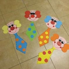 "Latest Pic mothers day Crafts for Kids Suggestions How many times what's your youngster state: ""I am bored."" As well frequently intended for sure Kids Crafts, Clown Crafts, Circus Crafts, Carnival Crafts, Carnival Decorations, Diy And Crafts, Paper Crafts, Art N Craft, Circus Theme"