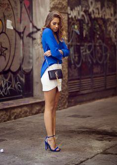 Blusa azul love ∆