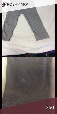 Lulu crops Perfect condition! Great material and texture. And very flattering lululemon athletica Pants Leggings