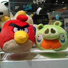 Cute Angry birds...