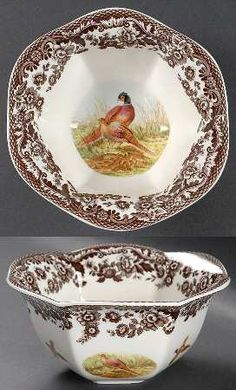 Spode Woodland Nut Bowl