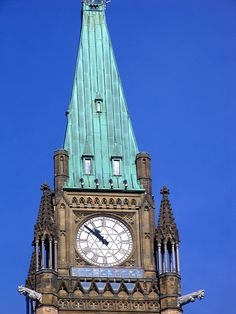 Peace Tower Clock, Ottawa, Canada