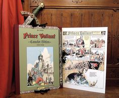 Prince Valiant, the Camelot Edition! The first full two years of the strip, in digitally restored, actual sized, high-grade paper! Only 700 copies printed, and only 400 in English.  About $400, but this is art wrapped in art.