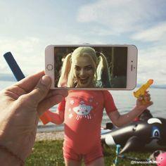 O fotógrafo  Francois Dourlen  criou uma série chamada Reality Revisited, para o qual ele incorpora a cultura pop em nossa vida diária com u...