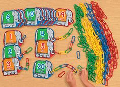 mathematics-kindergarten-Products at Lakeshore Learning Preschool Circus, Preschool Classroom, Kindergarten Math, Teaching Math, Preschool Rooms, Learning Numbers, Math Numbers, Elmer The Elephants, Lakeshore Learning